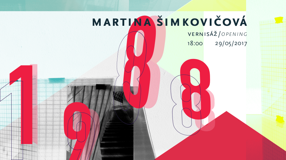 Exhibition visuals for Martina Šimkovičová