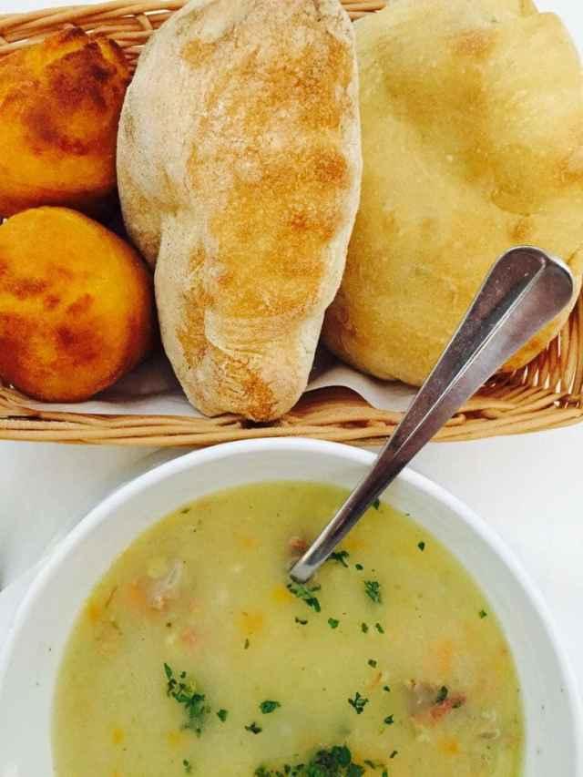 polievka čorba, Belehrad, Srbsko