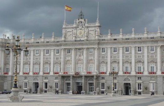 kráľovský palác, Palacio Real, Madrid, Španielsko, Lenka Says, LenkaSays, Travel & Lifestyle Blog, blog o cestovaní, blog o životnom štýle, cestovateľský blog, lajfstajlový blog