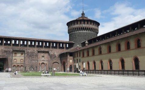 Castello Sforzesco, Miláno, Taliansko, rok, blog o životnom štýle