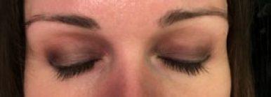 testovanie Urban Decay Eyeshadow Primer Potion Original - večer