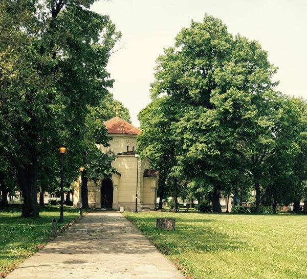 kaplnka z lebiek Cele Kula, Niš, Srbsko