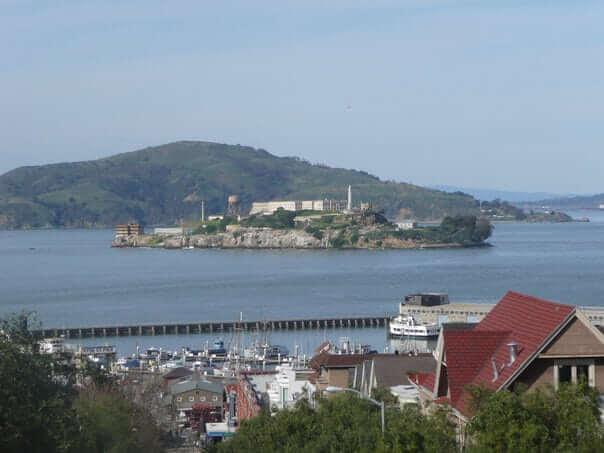 väznica Alcatraz, San Francisco, Spojené Štáty Americké, USA