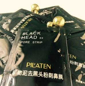 Pilaten čierna pleťová maska