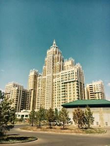 block of flats in Astana