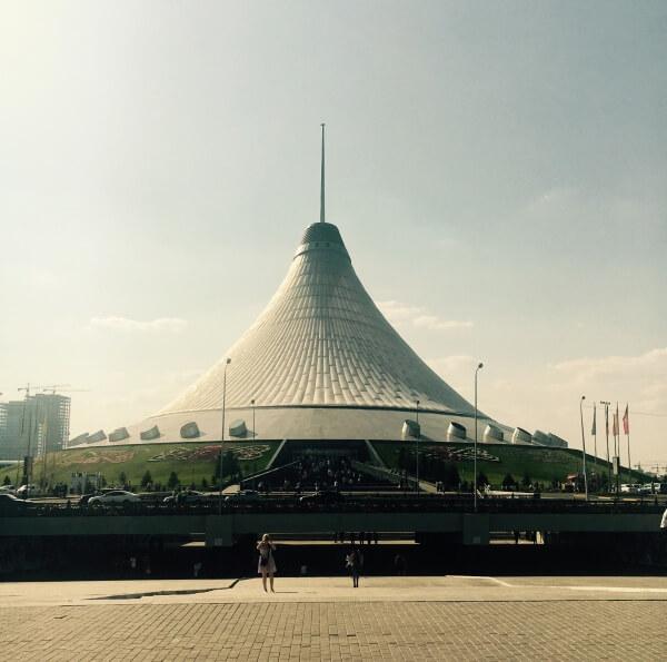 obchodný dom Khan Shatyr, Astana, Kazachstan, Nursultan