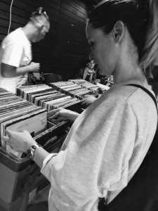 burza vinylových platní