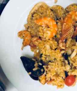seafood rizotto, Portugalsko