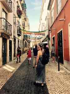 ulica, Bairo Alto, Lisabon, Portugalsko