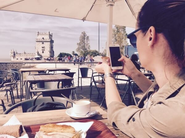 Torre de Belem, Pastel de Nata, Lisabon, Portugalsko, Lenka Says, LenkaSays, Travel & Lifestyle Blog, blog o cestovaní, blog o životnom štýle, cestovateľský blog, lajfstajlový blog