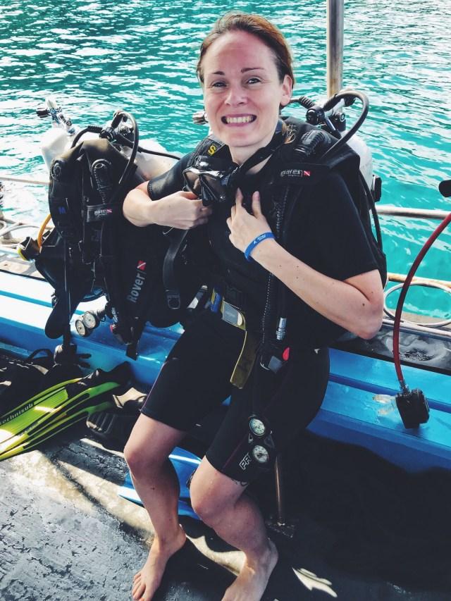 príprava na potápanie, Lenka Says, LenkaSays, blog o cestovaní, cestovateľský blog, blog o životnom štýle, travel & lifestyle blog, Koh Tao, Thajsko