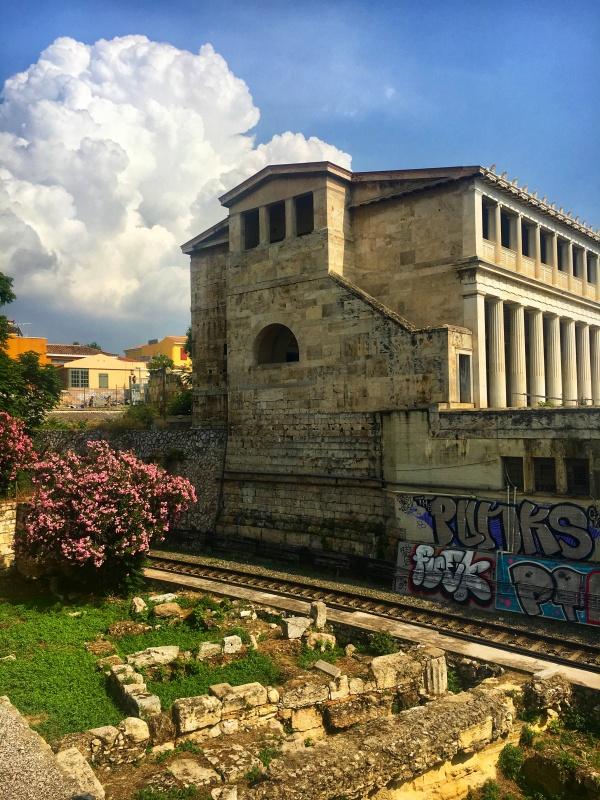 Staroveká Agora, Atény, Grécko