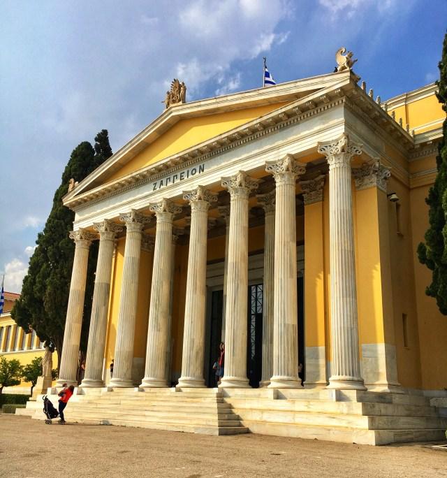 Zappeion, Atény, Grécko