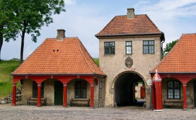 Citadela KASTELLET, Kodaň, Dánsko
