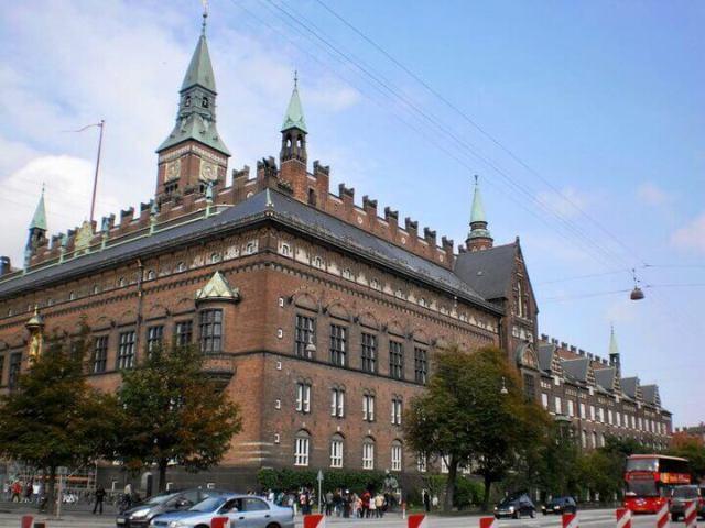 RADNICA RÅDHUS, Kodaň, Dánsko