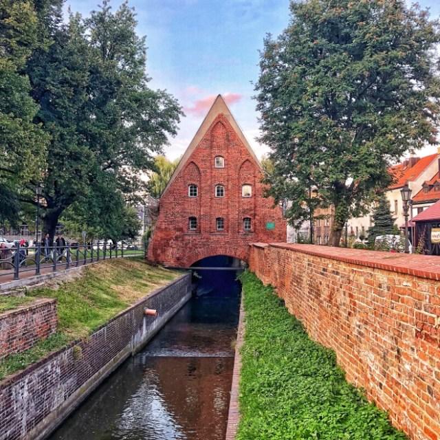 Malý mlyn, Gdansk, severné Poľsko