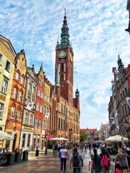 Mestská radnica, Gdansk, severné Poľsko