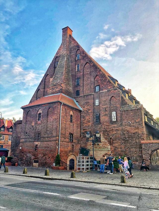 Veľký mlyn, Gdansk, severné Poľsko