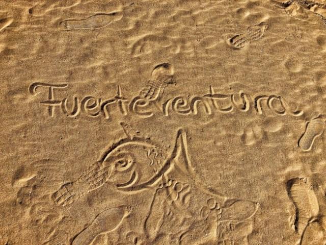 Corralejo Dunas, Fuerteventura, Kanárske ostrovy, Španielsko