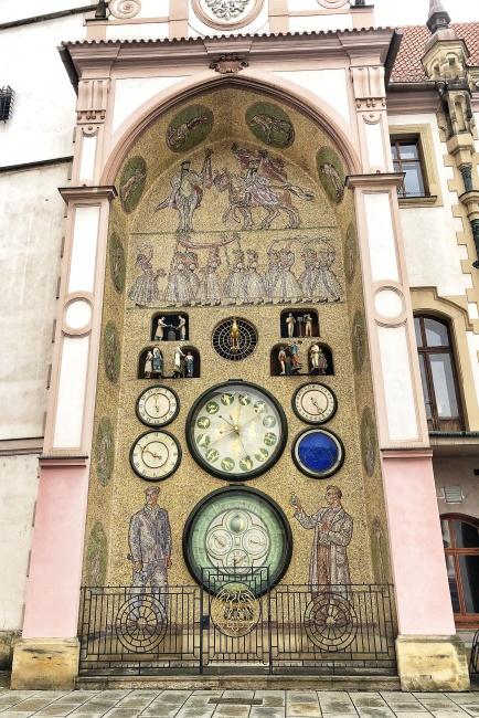 Olomoucký orloj, Olomouc, Česká republika