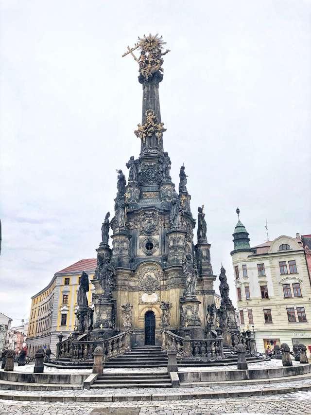 Stĺp Najsvätejšej Trojice, Olomouc, Česká republika