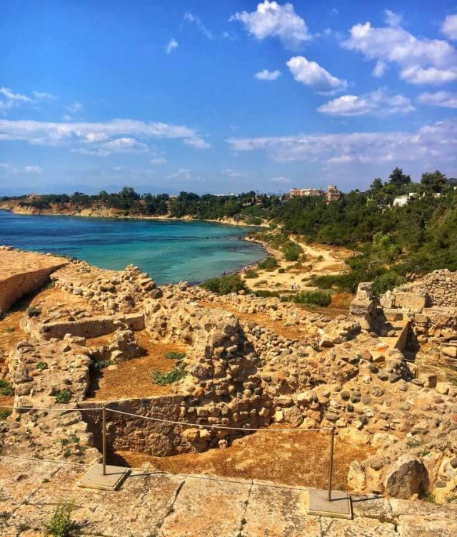 Kolona, Aegina, Ejina, Egina, Aigina, Grécko