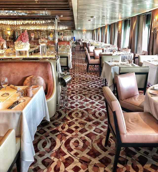 Reštaurácia Normandie na lodi Celebrity Edge