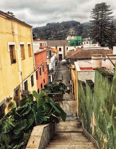 Teror, Gran Canaria, Kanárske ostrovy, Španielsko