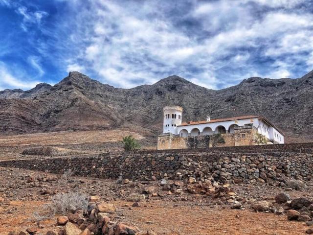 pláž Cofete, Vila Winter, Fuerteventura, Kanárske ostrovy, Španielsko