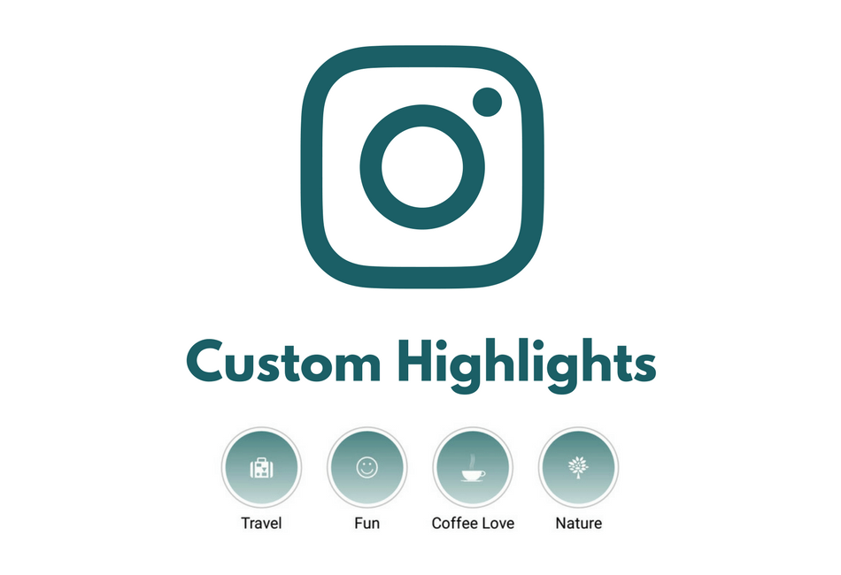 how to create instagram custom highlights