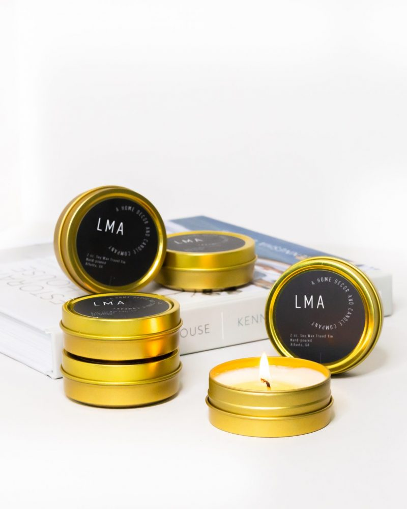 Len + McAddy Home Candle Co. Full Scent Collection