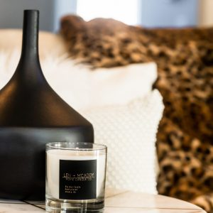 Hand-poured Candle by Len + McAddy Home Candle Co.
