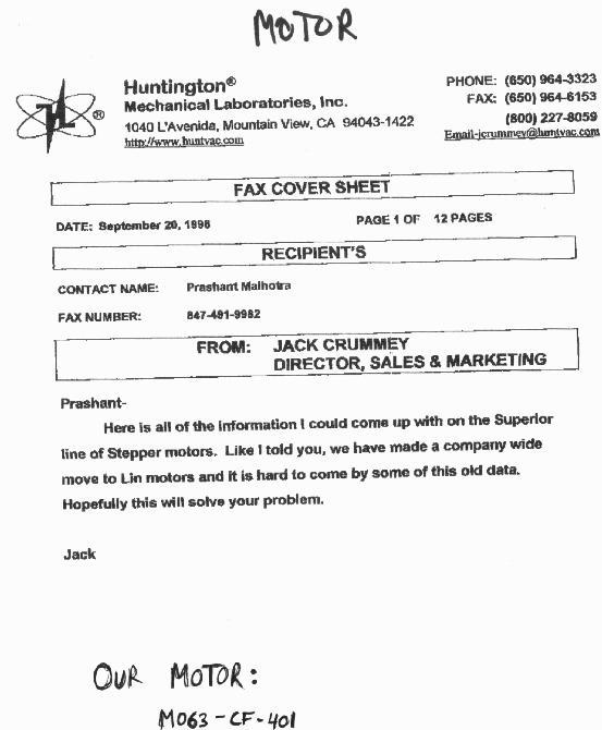 huntington feedthrough specification sheets vf106