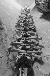 Skull stack, Kutna Hora.