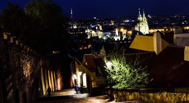 Prague Castle Stairs