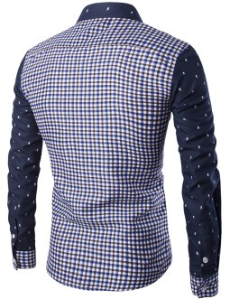 Factory customized wholesale all cotton tattoo printing men's star shirt