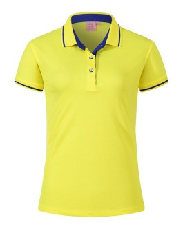 Anti-shrink top quality Men's and women ladies short polo shirts