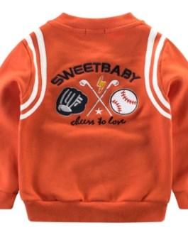 New Fashion & Stylish 100% cotton high quality Fabric O'Neck Long Sleeve boys sweatshirt Collection