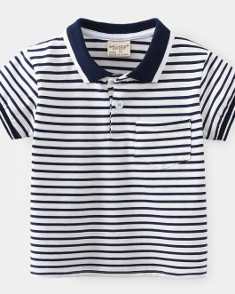 fashion kids polo t shirt baby tops child wear wholesale clothes boys polo shirts