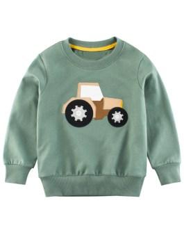 Spring Fashion Kids Printed Children's Long Sleeve Sweatshirt
