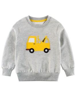 New Spring Fashion Boys Printed Long Sleeve Sweatshirt Collection