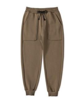 Men's browns organic Cotton trousers embroidered sweat pants Gym Fitness hombre Sweatpants Pants Men Joggers
