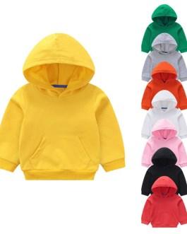 Custom Print Children Boy Plain Hoodies Kids Zipper Hoodies Collection