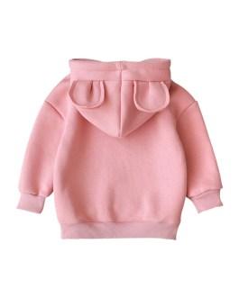 Children Hooded Sweatshirt Boys Cute Bear Ears Animal Hoodies Unisex Kids Clothing Casual Outware Collection