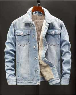 Hot sale fashion Custom Mens Jeans Jacket Denim Collection