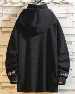 Mens Printed LOGO Oversized High Neck Fleece Fashion Sportswear Men Hoodies Collection