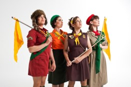 Real Vocal String Quartet - photos for their new record, Four Little Sisters