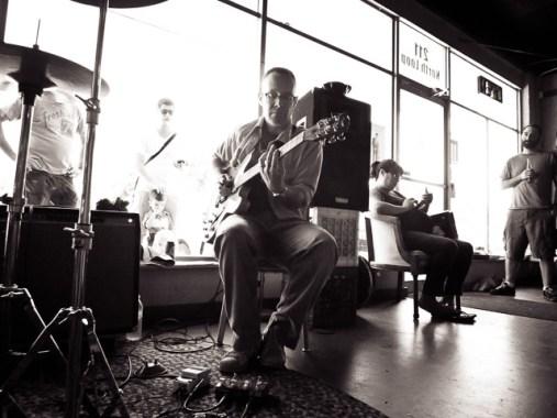 Josh LaRue at Breakaway Records - Austin TX