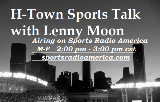 H-Town Sports Talk b&w SRA banner