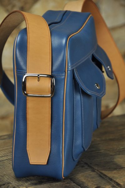 New model leather bag for man, Made in France by LE NOËN Luxury leather goods.